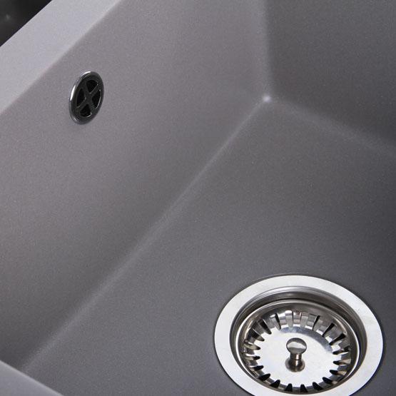 Como 15 | Spüle Küchenspüle Einbauspüle | 100 x 50 cm | 60er Schrank ...